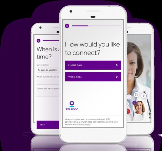 Teladoc Mobile App Aetna DC